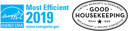 Energy Star Most Efficient 2019 Logo - Good Housekeeping Seal of Approval Logo