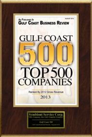 Gulf Coast Top 500 Companies 2013