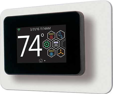 2.8-inch Hx Touch-screen Thermostat