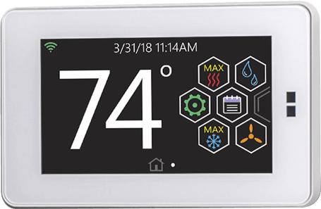 4.3-inch Hx3 Touch-screen Thermostat