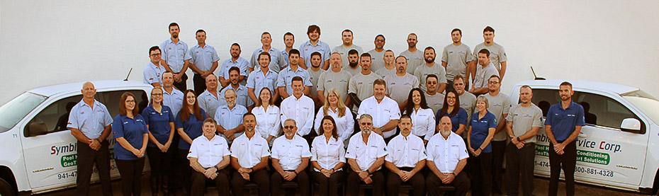 Symbiont company group photo