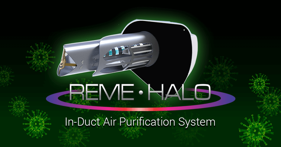 REME HALO in-duct air purification system