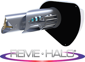 REME Halo Device and Logo